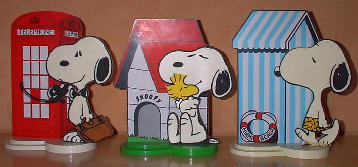 Mc Donald a sorti en 1999 une série Snoopy, voici la bande